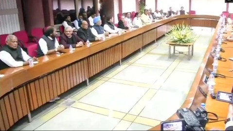 Meeting of opposition parties begins in Parliament to discuss the prevailing security situation in country