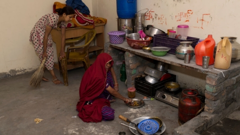 Women still associated with household work in India, states survey