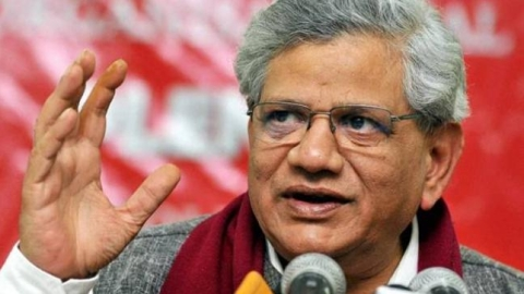 BJP destroying social harmony, economic growth in this environment not possible, says Yechury