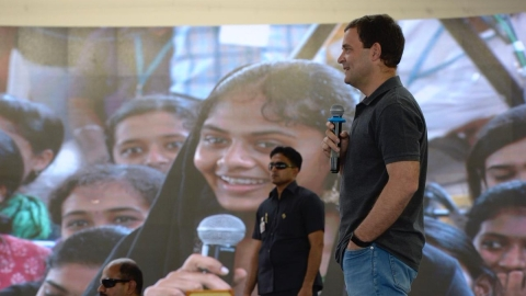 WATCH | Rahul Gandhi woos Tamil Nadu youth, women with jobs, loans & quota