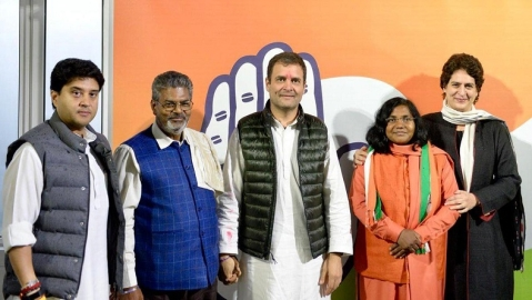 Congress becomes first choice for smaller parties, influential local leaders switching sides