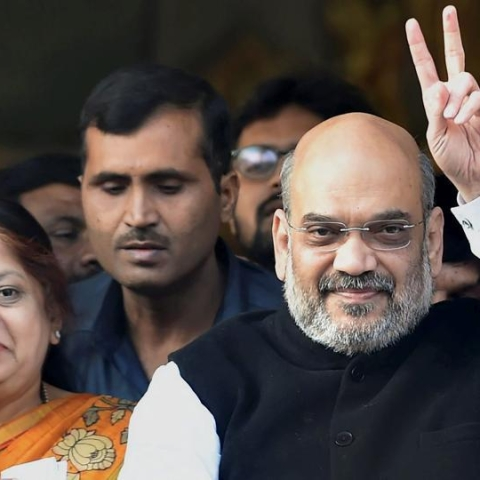 BJP chief  Amit Shah's wife's income grew 16-fold in 5 years