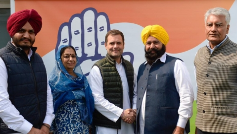 Day after resigning from Akali Dal, Ferozepur MP Sher Singh Ghubaya joins Congress