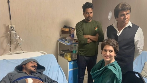 Priyanka Gandhi meets Bhim Army chief Chandrasekhar Azad, hits out at BJP