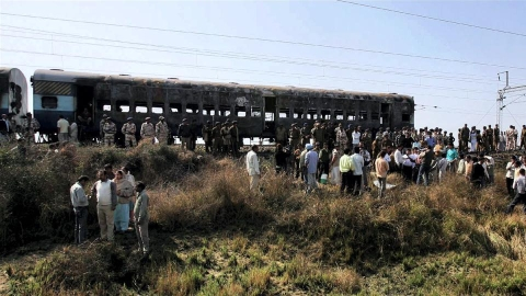 Samjhauta Express train blast case (PTI)