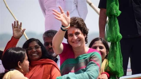 Priyanka's Dalit outreach and Ganga Yatra change political narratives in Uttar Pradesh