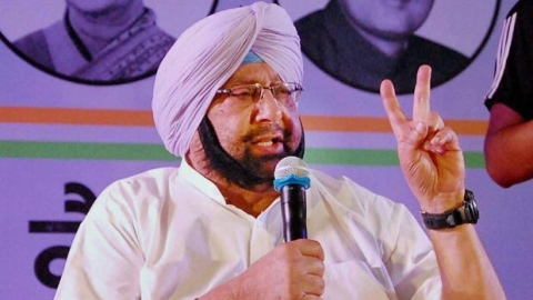Self-obsessed Modi indulges in theatrics: Captain Amarinder Singh