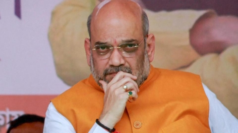 BJP president Amit Shah's annual income one-fourth of his wife