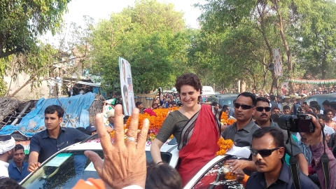 Priyanka Gandhi meets students, says she loves cooking
