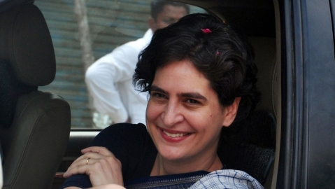 Likened to Indira as people still love her: Priyanka Gandhi