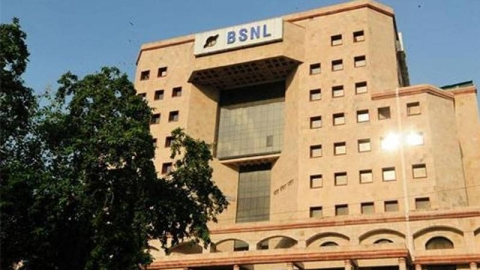 BSNL's office in New Delhi, Photo Courtesy: PTI