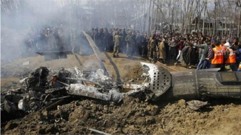 Was Mi17 chopper at Budgam shot down by own defence system?
