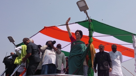 In pictures: Congress General Secretary Priyanka Gandhi's Ganga Yatra