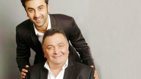 """My father is doing well"" says Ranbir Kapoor on Rishi Kapoor's health"