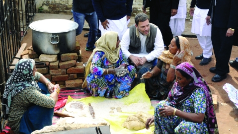 Rahul Gandhi changes political agenda by embarking on politics based on compassion