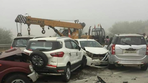 Yamuna Expressway a deathtrap; 4,956 accidents, 718 deaths recorded in 5 years
