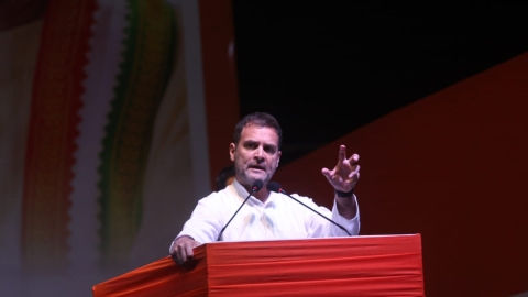 Rahul Gandhi: Have you seen PM Modi's face today? He has sensed that his time has come to go