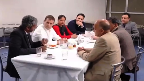 WATCH | Rahul Gandhi shares video of meeting with small business owners