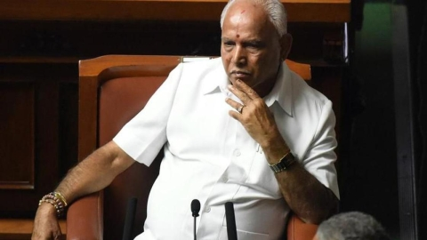 Entries by Yeddyurappa reveal payment of ₹1,800 Crore to 'chowkidars'