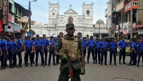 Easter blasts belie Sri Lanka's calm facade