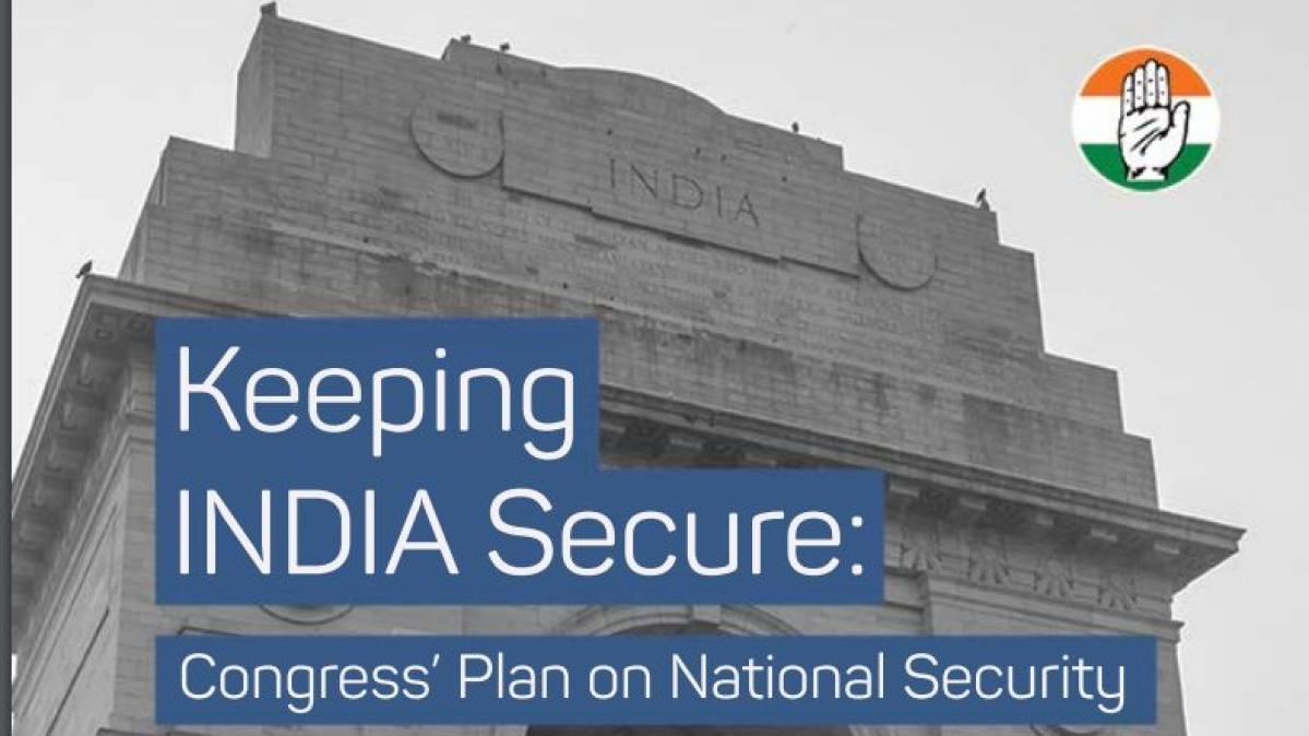 Congress releases plan on national security, emphasises on 'Jan Suraksha'