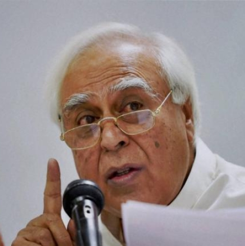 Senior Congress leader Kapil Sibal (PTI Photo)