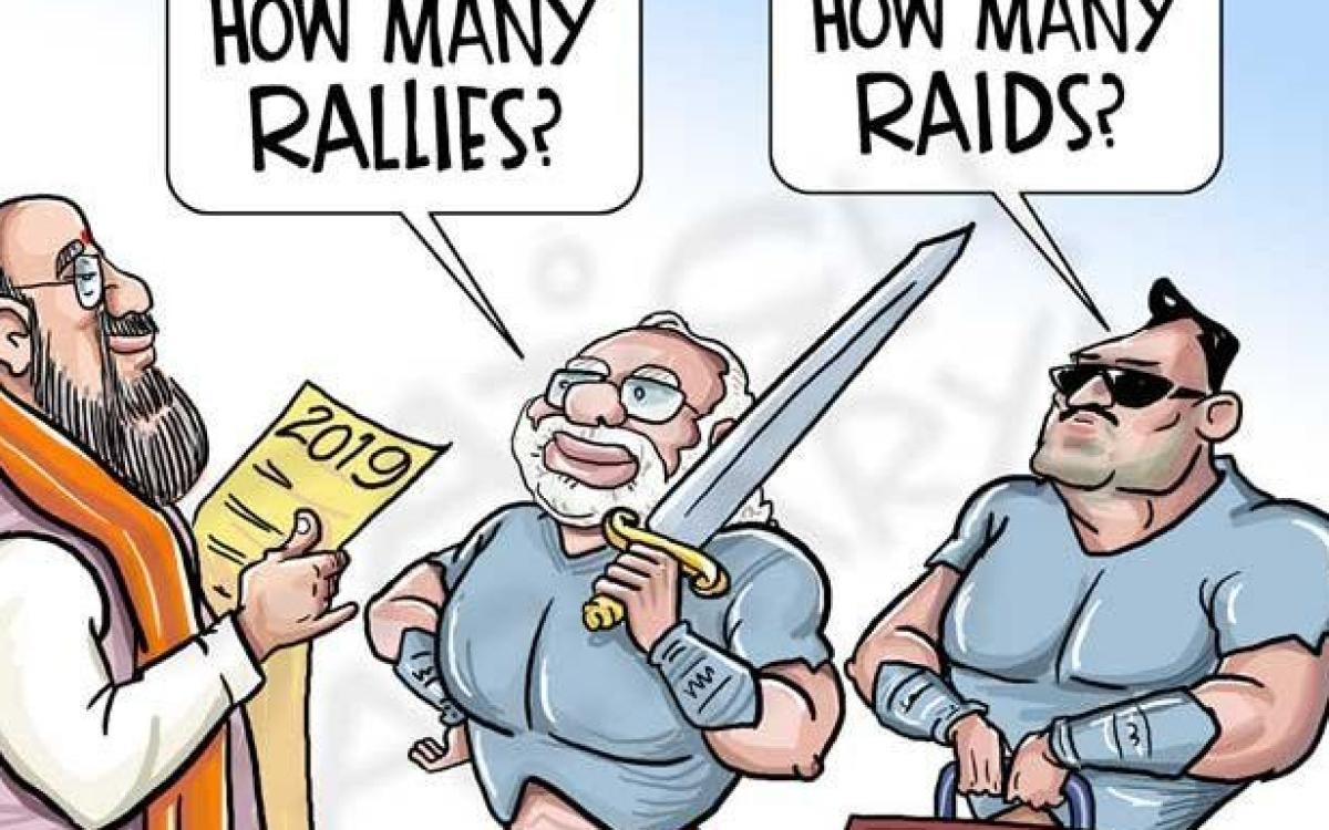 Trending On Social Media Political Cartoons Take Swipes At