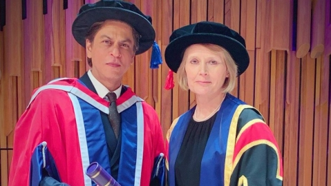 SRK talks about his greatest learning, Meer foundation and  importance of giving at The University of Law