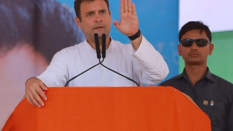 Rahul Gandhi hits out at Modi government on economy 'slowdown'