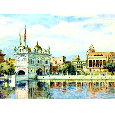 Golden Temple by William Carpenter