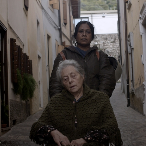 A scene from 'For A Son' a film showcased in the Budding Italian Film Director Festival