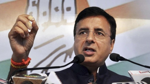 Congress chief spokesperson Randeep Surjewala (PTI)