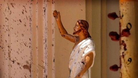 President Maithripala Sirisena announces emergency from midnight in Sri Lanka