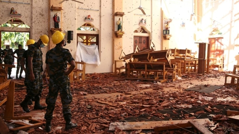 Majoritarianism fuels extremism: lesson for India from Sri Lankan blasts