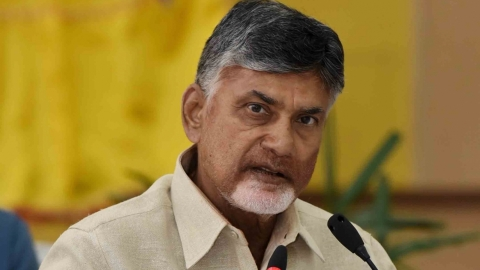 Andhra Pradesh Chief Minister Chandrababu Naidu (IANS Photo)