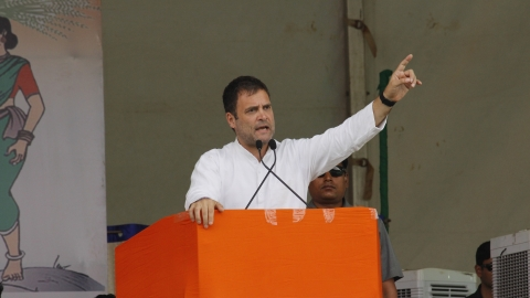 "Rahul in Karnataka: ""Chowkidar is 100 % thief"