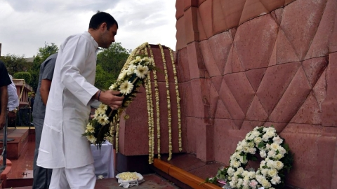 Jallianwala Bagh massacre: Rahul Gandhi, Capt. Amarinder Singh pay homage at Jallianwala Bagh