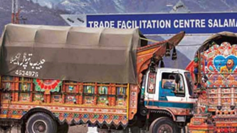 Cross-LoC trade resumes along the Poonch-Rawalakot route; over 70 trucks cross border