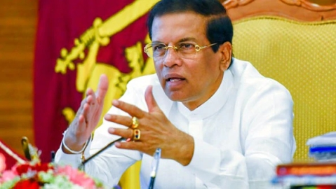70 IS suspects held after Easter bombings, claims Sri Lankan President Sirisena