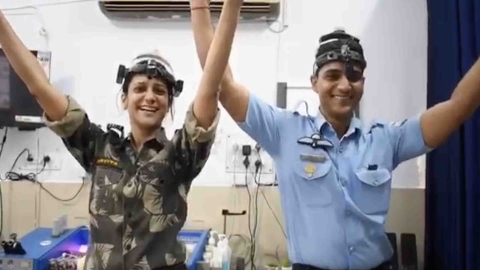 Watch: Video of military docs, patients dancing goes viral