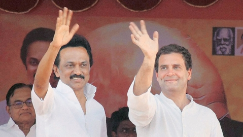 In TN,  Congress manifesto is a winner all the way, BJP faces a whitewash as DMK-INC alliance set to sweep