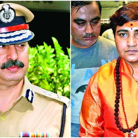Hemant Karkare's kin criticises Pragya Thakur over her remarks; say shouldn't be given poll ticket