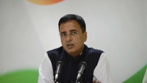 Congress' chief spokesperson Randeep Surjewala (IANS)