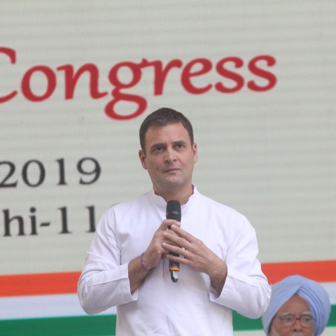 Congress president Rahul Gandhi (NH by Vipin)