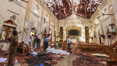 'Fighters of the Islamic State' carried out Sri Lanka bombings