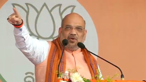 Goa Congress demands police complaint against Amit Shah for making communal statement at West Bengal rally