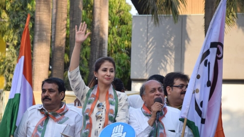 Urmila Matondkar: There is a threat to my life; BJP activists used abusive language against women