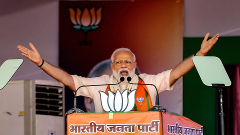 Can Prime Minister Narendra Modi be disqualified after the polling?