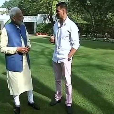 'Failed politician' looking for alternative employment in Bollywood: Congress on PM Modi's chat with Akshay