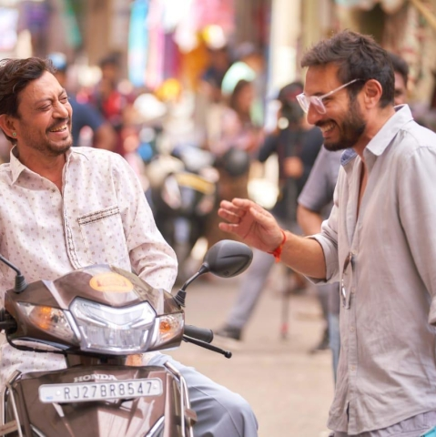 Irrfan's first look from the sets of 'Angrezi Medium'